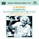 Composer: Sa Line - Schubert シューベルト / 交響曲第8(7)番、第9(8)番『グレート』 ティントナー 輸入盤 【CD】