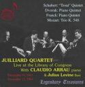室內樂 - 【送料無料】 Juilliard.sq & Arrau Piano Quintet-schubert, Franck, Dvorak +mozart: Trio 輸入盤 【CD】