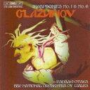 作曲家名: Ka行 - 【送料無料】 Glazunov グラズノフ / Sym.1, 6: 尾高忠明otaka / Bbc National.o Of Wales 輸入盤 【CD】