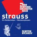 作曲家名: Sa行 - 【送料無料】 Strauss, R. シュトラウス / R.シュトラウス:交響詩《英雄の生涯》、メタモルフォーゼン ビシュコフ 指揮 ケルン放送交響楽団 輸入盤 【CD】