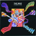 藝人名: W - The Who フー / Quick One 輸入盤 【CD】
