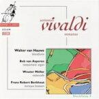 【送料無料】 Vivaldi ヴィヴァルディ / ブロックフレーテ4 ヴィヴァルディ:リコーダー・ソナタ集 ハウヴェ(rec)、他 輸入盤 【CD】