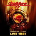 Dokken ドッケン / From Conception - Live 1981 輸入盤 【CD】