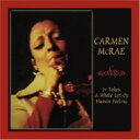 Artist Name: C - 【送料無料】 Carmen Mcrae カーメンマクレエ / It Take A Whole Lot Of Human 輸入盤 【CD】
