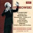 Symphony - Tchaikovsky チャイコフスキー / 交響曲第5番、他 ストコフスキー&シュトゥットガルト放送交響楽団、他 輸入盤 【CD】