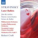 Composer: Sa Line - Stravinsky ストラビンスキー / 後期バレエ音楽集 クラフト&フィルハーモニア管、ロンドン・フィル、他 輸入盤 【CD】