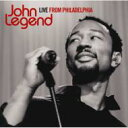 CD+DVD 21%OFF[初回限定盤 ] John Legend ジョンレジェンド / Live From Philadelphia 【CD】