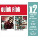 Artist Name: Q - Quiet Riot クワイエットライオット / X2 (Metal Health / Condition Critical) 輸入盤 【CD】