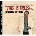 Sonny Criss ソニークリス / This Is Criss - Rvg 輸入盤 【CD】