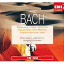 古典 - 【送料無料】 Bach, Johann Sebastian バッハ / 受難曲、ミサ、オラトリオ集 ゲンネンヴァイン、ヨッフム、レッジャー指揮(10CD) 輸入盤 【CD】