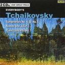 作曲家名: Ta行 - Tchaikovsky チャイコフスキー / チャイコフスキー:交響曲第4番、ピアノ協奏曲第1番(ジンマン)、交響曲第5番(プレヴィン)(2CD) 輸入盤 【CD】