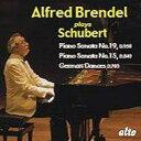 作曲家名: Sa行 - Schubert シューベルト / Piano Sonata, 15, 19, : Brendel 輸入盤 【CD】