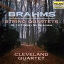 Brahms ブラームス / 弦楽四重奏曲第1、2番 クリーヴランド四重奏団 輸入盤 【CD】