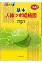 基本人体ツボ経絡図 14経 / 市川敏男 【図鑑】