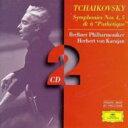 作曲家名: Ta行 - Tchaikovsky チャイコフスキー / 後期交響曲集 カラヤン&ベルリン・フィル(2CD)  輸入盤 【CD】