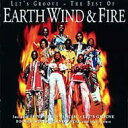 Artist Name: E - Earth Wind And Fire アースウィンド&ファイアー / Let's Groove - Best Of 輸入盤 【CD】