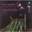 作曲家名: Ya行 - Janacek ヤナーチェク / String Quartet, 1, 2, : Leipzig Sq +dvorak: Cypresses 輸入盤 【CD】