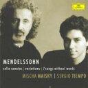 作曲家名: Ma行 - Mendelssohn メンデルスゾーン / チェロ・ソナタ第1、2番、ほか マイスキー、ティエンポ 輸入盤 【CD】