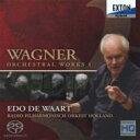 【送料無料】 Wagner ワーグナー / 管弦楽曲集I ワールト&オランダ放送フィル(ダイレクト・カットSACD) 【SACD】