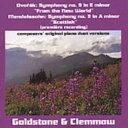 Composer: Ta Line - 【送料無料】 Dvorak ドボルザーク / (Piano Duo)sym, 9, : Goldstone & Clemmow +mendelssohn: Sym, 3, 輸入盤 【CD】