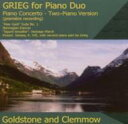 Composer: Ka Line - 【送料無料】 Grieg グリーグ / (Piano Duo)piano Concerto, Peer Gynt Suite, 1, : Goldstone & Clemmow +mozart 輸入盤 【CD】