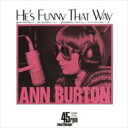 Ann Burton アンバートン / He's Funny That Way / Some Other Spring 【Hi Quality CD】