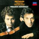 室內樂 - Beethoven ベートーヴェン / ヴァイオリン・ソナタ第5番『春』、第9番『クロイツェル』 パールマン、アシュケナージ 【CD】