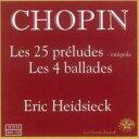 Composer: Sa Line - Chopin ショパン / 25の前奏曲、4つのバラード ハイドシェック 輸入盤 【CD】