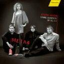 【送料無料】ハイドン / 弦楽四重奏曲第60、61、62番 META4 輸入盤 【CD】