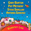 藝人名: G - Gary Burton / Pat Metheny / Quartet Live! 輸入盤 【CD】