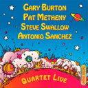 Artist Name: G - Gary Burton / Pat Metheny / Quartet Live! 輸入盤 【CD】
