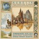 Schumann シューマン / 交響曲第3番、第4番、『マンフレッド』序曲 クーベリック&バイエルン放送響 【Blu-spec CD】