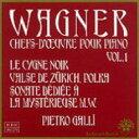 Composer: Wa Line - Wagner ワーグナー / ピアノ作品集第1集 ガッリ 輸入盤 【CD】