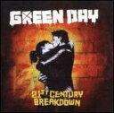 Green Day グリーンデイ / 21st Century Breakdown 輸入盤 【CD】