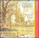 作曲家名: Ra行 - Lekeu ルクー / ピアノ三重奏曲、ピアノ四重奏曲 シュピラー・トリオ、オスカー・リジー(Va) 輸入盤 【CD】