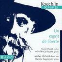 Composer: Ka Line - Koechlin ケクラン / Violin Sonata, Viola Sonata: Viaud(Vn) Guillaume(P) Michalakakos(Va) Gagnepain(P) 輸入盤 【CD】
