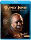 Quincy Jones クインシージョーンズ / 75th Birthday Celebration: Live At Montreaux 2008 【BLU-RAY DISC】