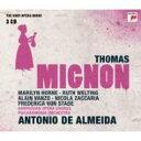 【送料無料】 トマ、アンブロワーズ(1811-96) / 『ミニョン』全曲 アルメイダ&フィルハーモニア管、ホーン、シュターデ、他(1977 ステレオ)(3CD) 輸入盤 【CD】