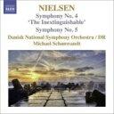 Composer: Na Line - Nielsen ニールセン / 交響曲第4番『不滅』、第5番 ショーンヴァント&デンマーク国立放送交響楽団 輸入盤 【CD】