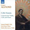 作曲家名: A行 - アルファーノ、フランコ(1875-1954) / コンチェルト(ピアノ三重奏曲)、チェロ・ソナタ ダルヴァロヴァ、マギル、ダン 輸入盤 【CD】