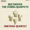 【送料無料】 Beethoven ベートーヴェン / 弦楽四重奏曲全集 スメタナ四重奏団(1976−85)(8CD) 【CD】
