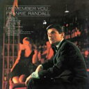 艺人名: F - 【送料無料】 Frankie Randall / I Remember You +1 【Hi Quality CD】