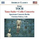 作曲家名: Ta行 - トッホ(1887-1964) / Tanz-suite, Cello Concerto: Carroll / Spectrum Concerts Berlin Poltera(Vc) 輸入盤 【CD】