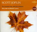 Artist Name: W - 【送料無料】 William Albright (Jz) / Scott Joplin: The Complete Rags Marches & Waltzes 輸入盤 【CD】