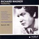 【送料無料】 Wagner ワーグナー / 『パルジファル』全曲 クナッパーツブッシュ&バイロイト、バイラー、メードル、他(1959 モノラル)(4CD) 輸入盤 【CD】