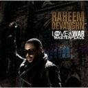 藝人名: R - 【送料無料】 Raheem Devaughn ラヒームデボーン / Love & War Masterpeace 輸入盤 【CD】