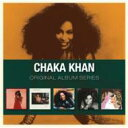 Artist Name: C - 【送料無料】 Chaka Khan チャカカーン / 5CD Original Album Series Box Set (5CD) 輸入盤 【CD】