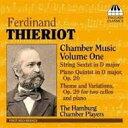 Chamber Music - 【送料無料】 ティエリオ(1838-1919) / Piano Quintet, String Sextet, Etc: Hamburg Chamber Players 輸入盤 【CD】