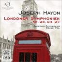 【送料無料】 Haydn ハイドン / 交響曲第94番『驚愕』、第97番、第98番 ブルーノ・ヴァイル&カペラ・コロニエンシス 輸入盤 【SACD】