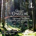 作曲家名: A行 - Onslow オンスロウ / ピアノ五重奏曲、弦楽五重奏曲『狩り』 ティオリエ、アンサンブル・モンソロ 輸入盤 【CD】